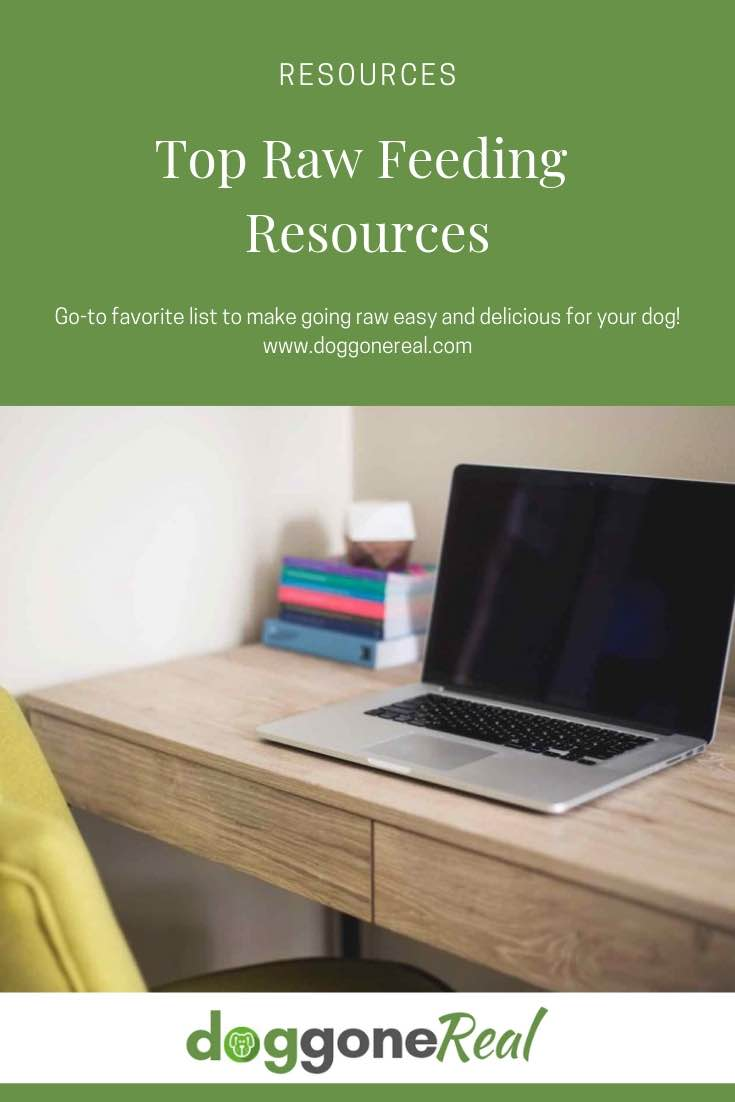 Top Raw Feeding Resources - list of go-to favorites